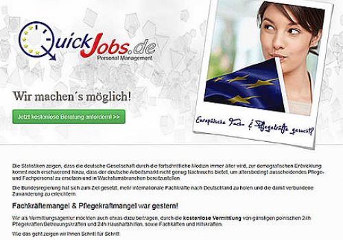 QuickJobs.de - Launch 2013